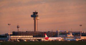 Ein Abend am Flughafen DUS