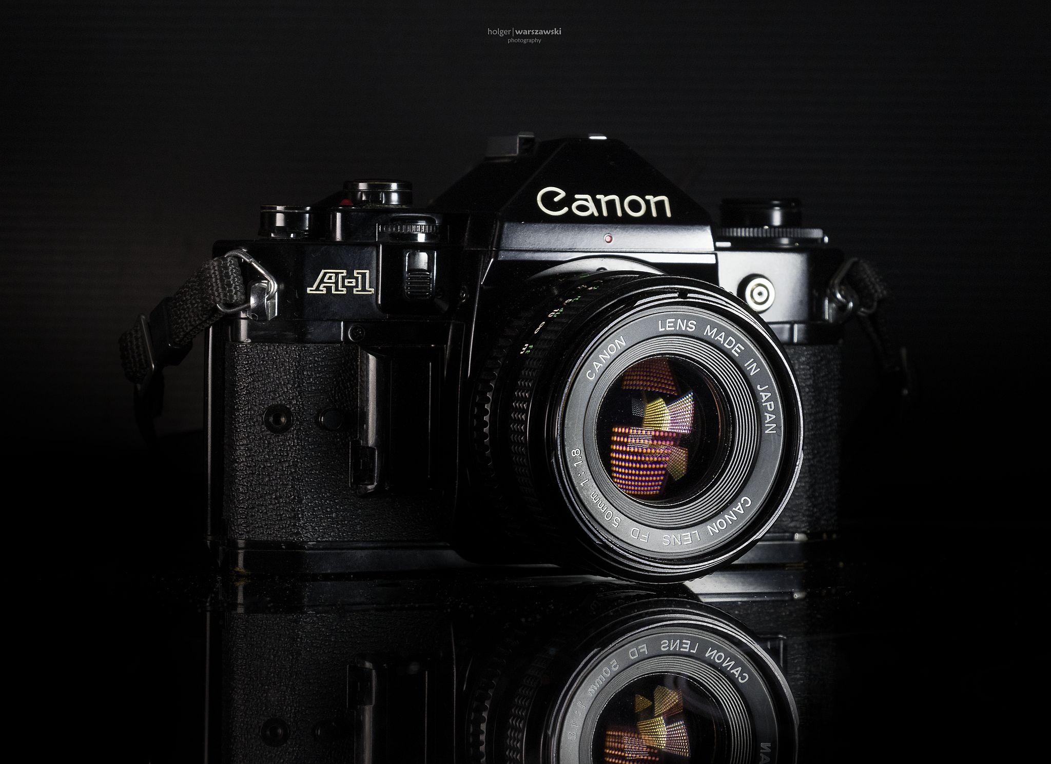 """Meine """"neue"""" Canon A-1"""